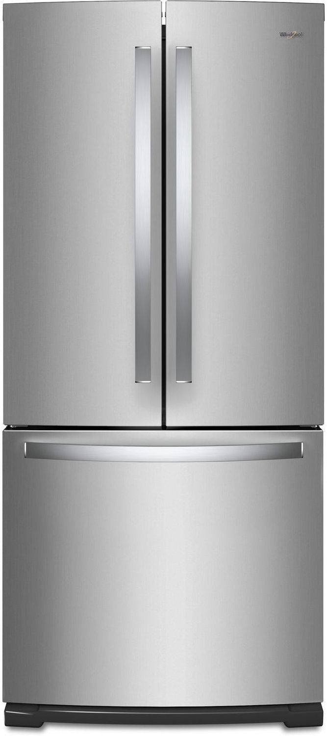 Whirlpool Stainless Steel French Door Refrigerator (20 Cu. Ft.)- WRF560SFHZ