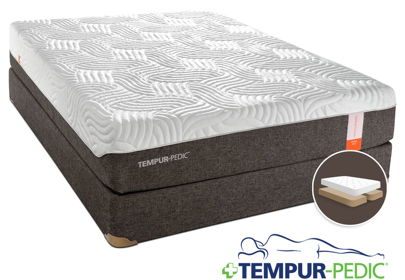 Tempur-Pedic Sense 2.0 Firm King Mattress and Split Boxspring Set