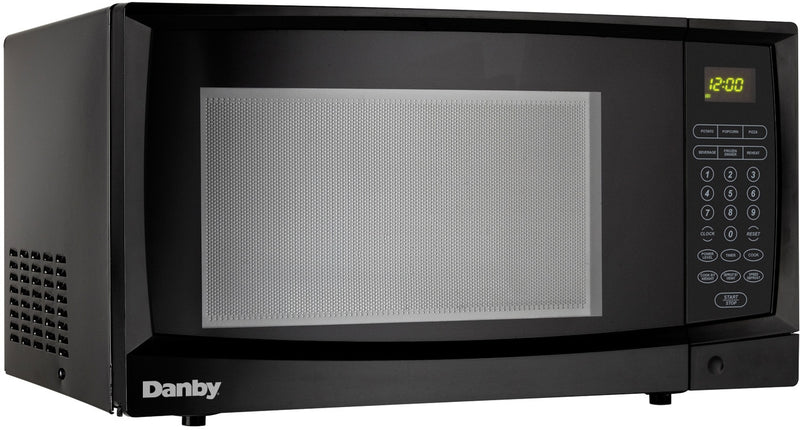 Danby Black Countertop Microwave (1.1 Cu. Ft.) - DMW1110BLDB