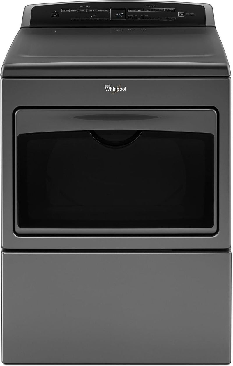 Whirlpool Chrome Shadow Gas Dryer (7.4 Cu. Ft.) - WGD7500GC