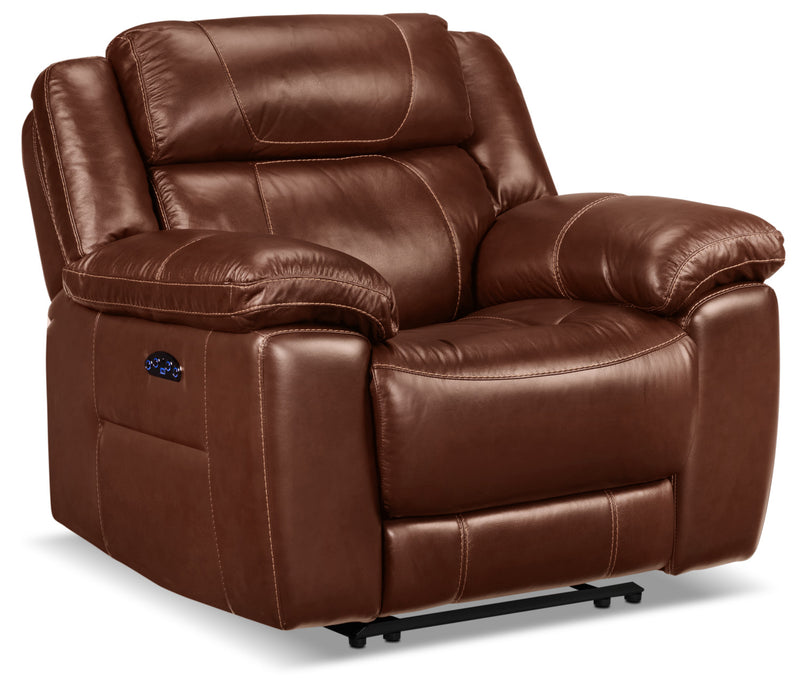 Solenn Power Recliner - Hazelnut