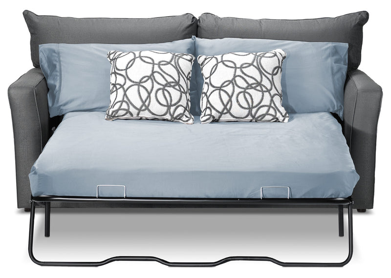 Sonah Full Innerspring Sofa Bed - Grey
