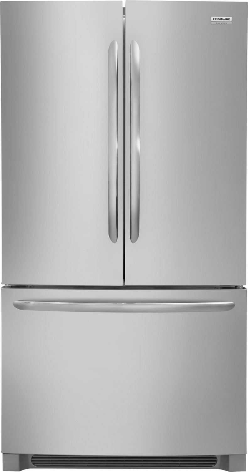 Frigidaire Gallery Stainless Steel French Door Refrigerator  (22.4 Cu. Ft.) - FGHG2368TF