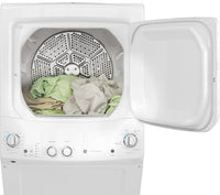 GE White Electric Laundry Centre - GUD24ESMMWW