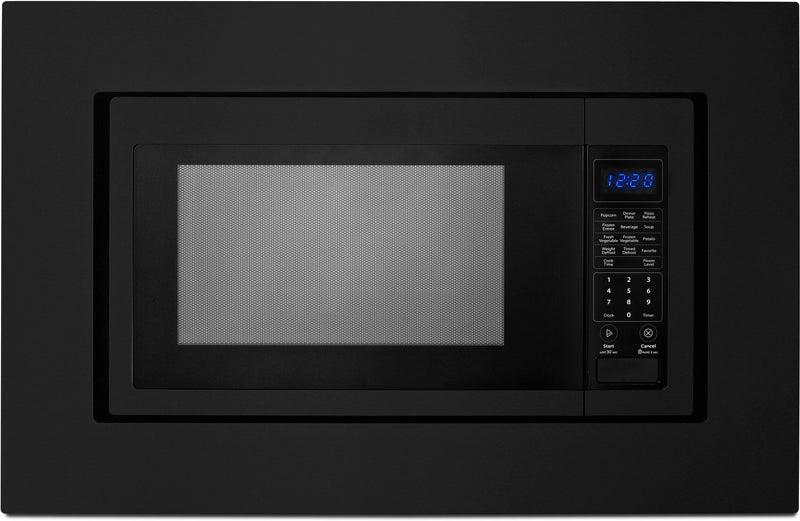 "Whirlpool Black 30"" Microwave Trim Kit - MK2160AB"