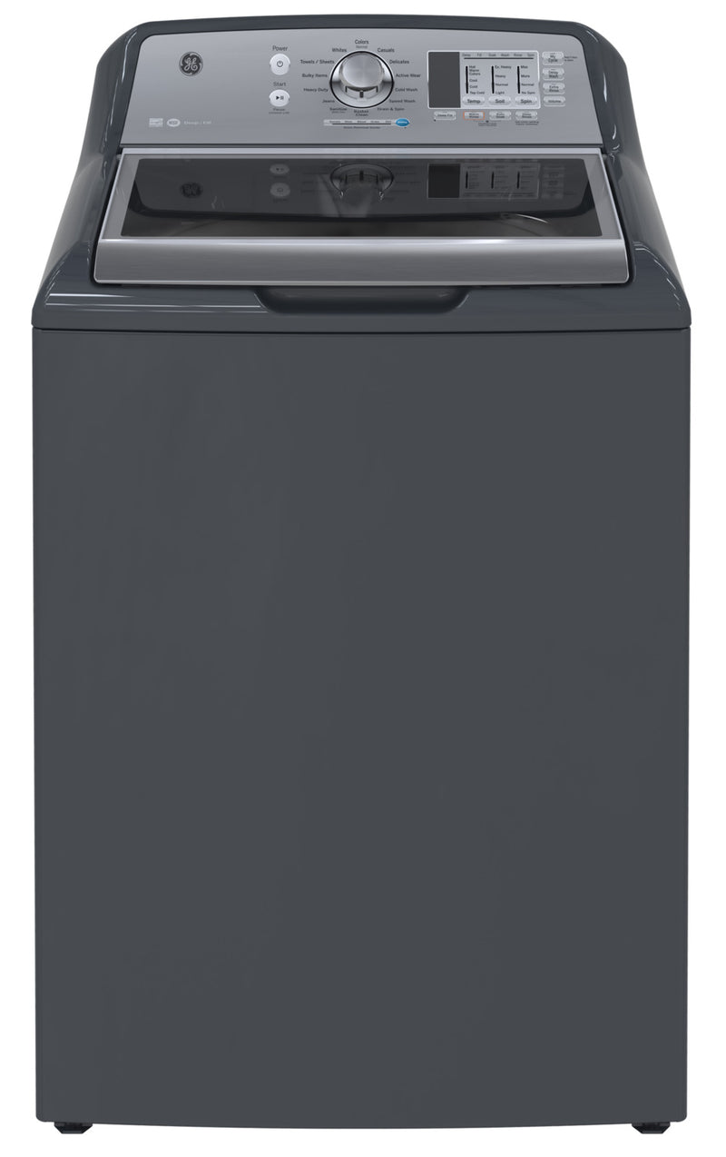 GE Diamond Grey Top-Load Washer (5.3 Cu. Ft.) - GTW680BMMDG
