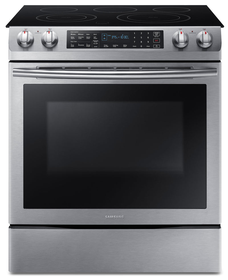 Samsung Stainless Steel Slide-In Electric Convection Range (5.8 Cu.Ft.) - NE58M9430SS/AC