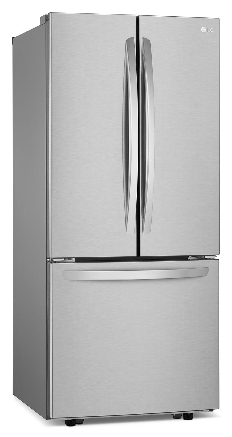 Lg Stainless Steel French Door Refrigerator 21 8 Cu Ft