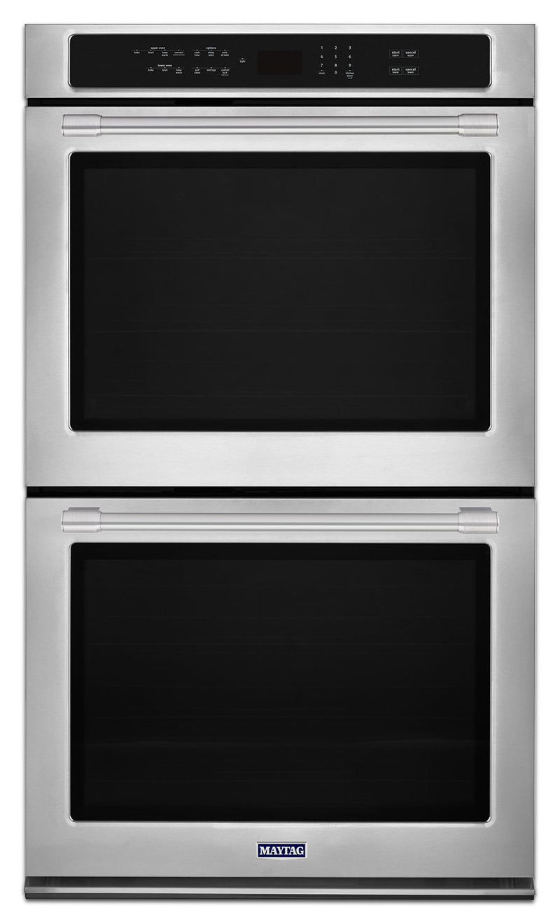 Maytag Stainless Steel Electric Double Wall Oven (10.0 Cu. Ft.) - MEW9630FZ