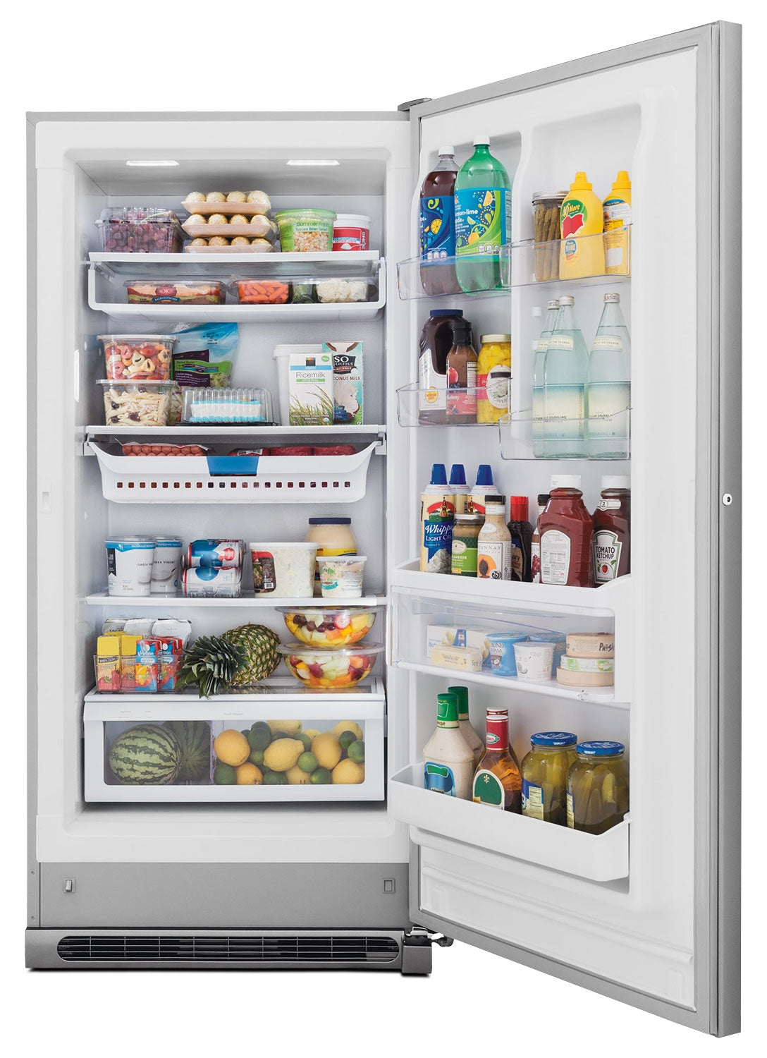 Frigidaire Gallery Stainless Steel 2 In 1 Upright Freezer