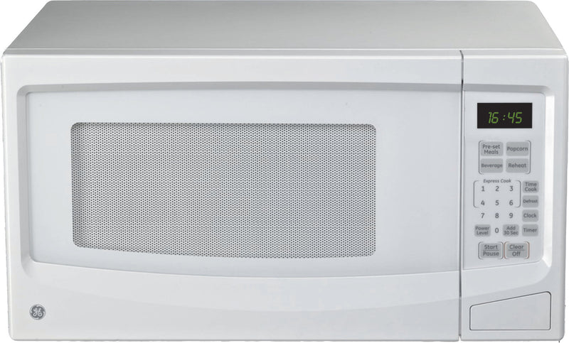 GE White Countertop Microwave (1.1 Cu. Ft.) - JES1145WTC