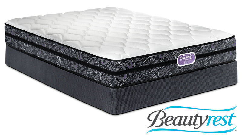 Simmons Beautyrest Ultra Haley Firm Queen Mattress and Boxspring Set
