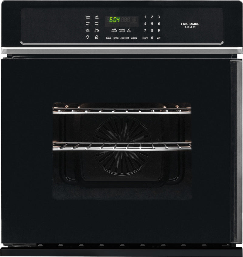 Frigidaire Gallery Black Side-Swing Electric Wall Oven (3.8 Cu. Ft.) - FGEW276SPB