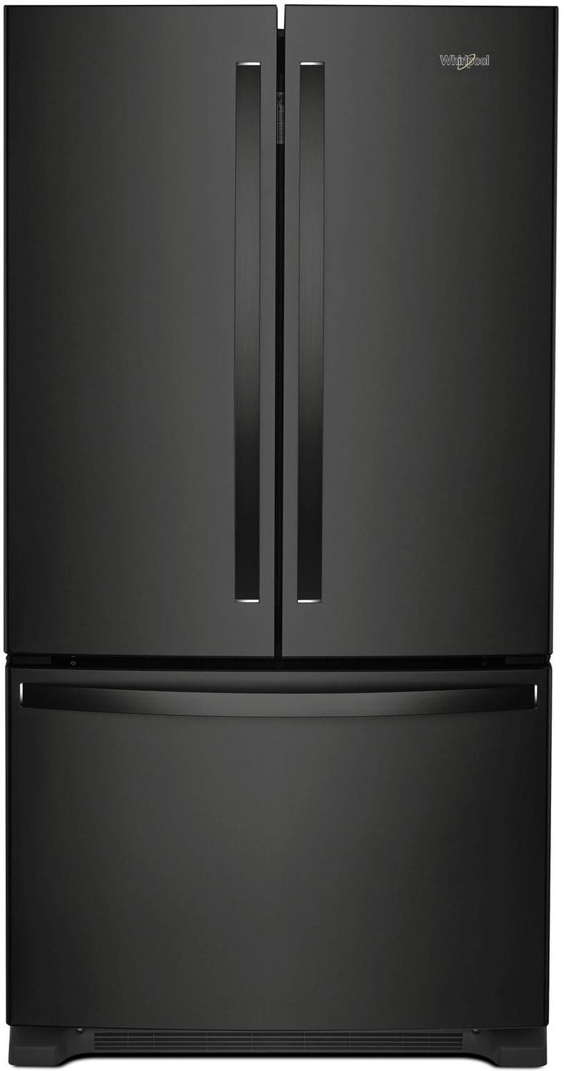 Whirlpool Black French Door Refrigerator (25 Cu. Ft.) - WRF535SMHB
