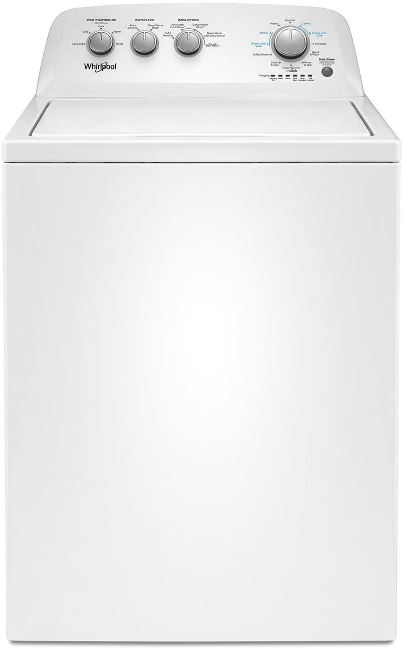 Whirlpool White Top-Load Washer (4.4 Cu. Ft. IEC) - WTW4855HW