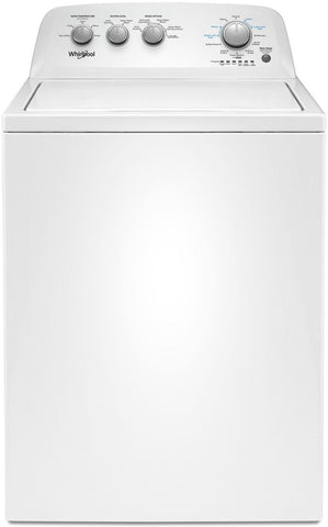 Whirlpool White Top-Load Washer (4 4 Cu  Ft  IEC) - WTW4855HW