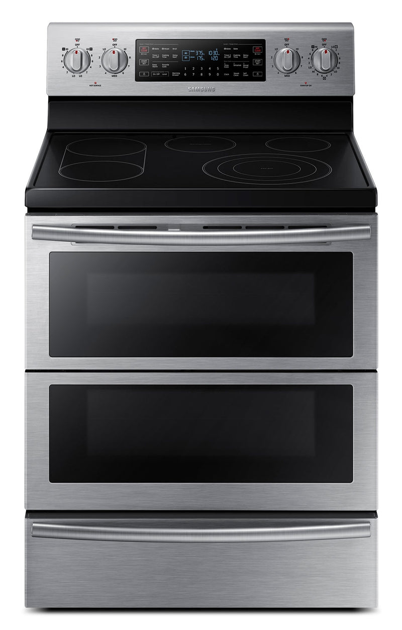 Samsung Stainless Steel Freestanding Electric Dual Convection Range (5.9 Cu. Ft.) - NE59J7850WS/AC