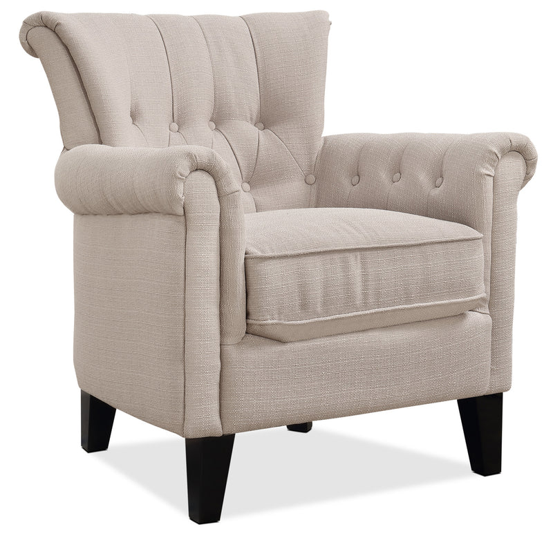 Molly Accent Chair - Beige