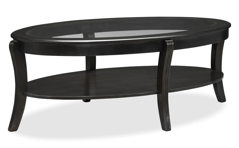 Theo Coffee Table - Charcoal Grey