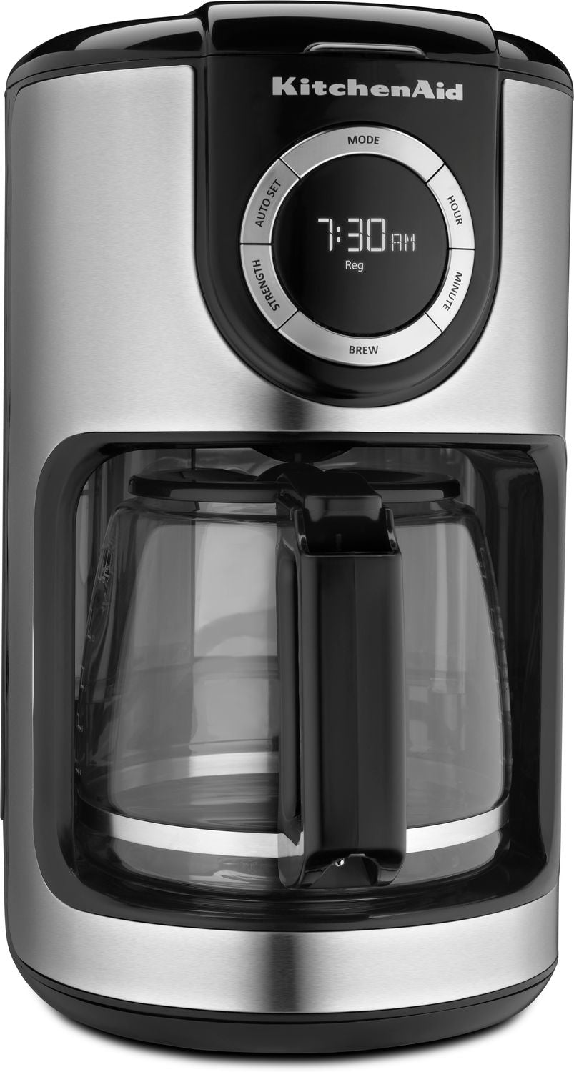 Kitchenaid Onyx Black 12 Cup Coffee Maker Kcm1202ob Leons