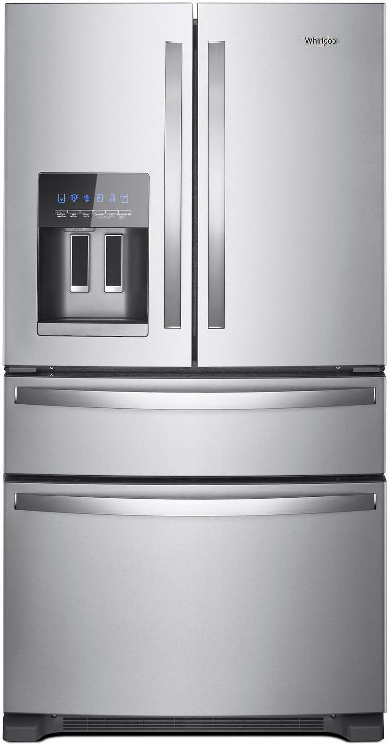 Whirlpool Stainless Steel French Door Refrigerator (25 Cu. Ft.) - WRX735SDHZ