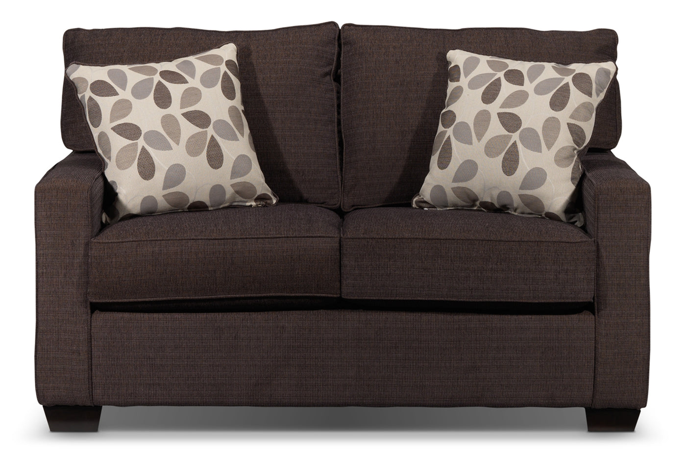 Perkin Loveseat Deep Brown Leons