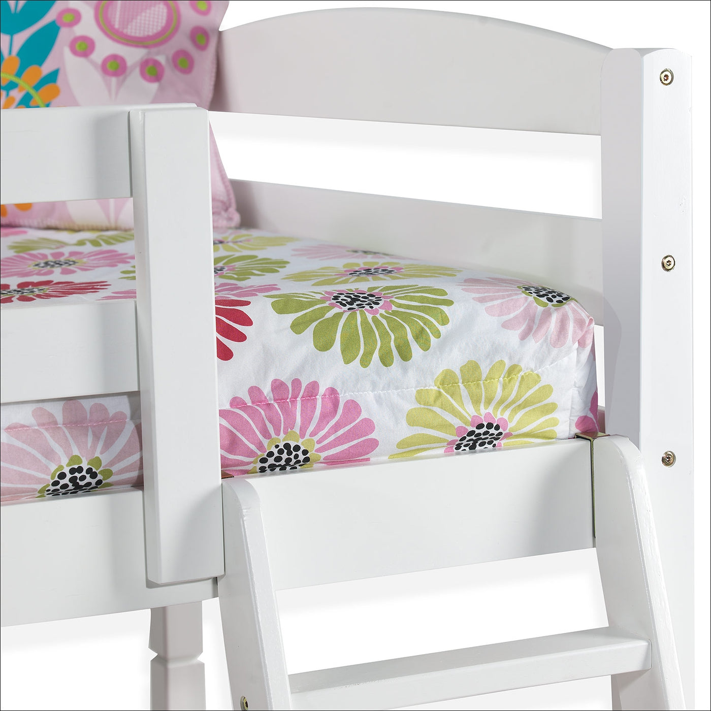 Picture of: Charlie Twin Bunk Bed White Leon S