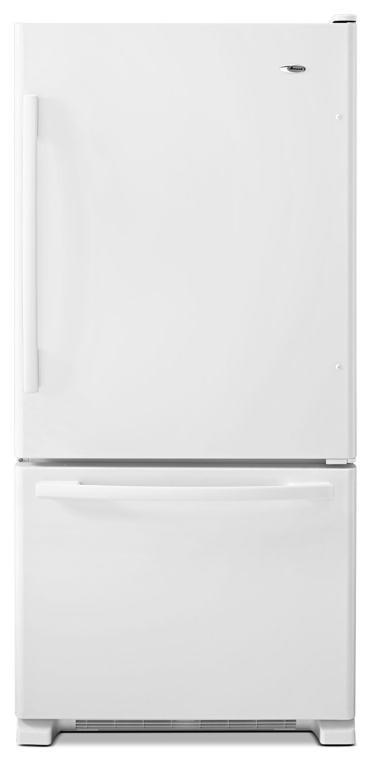 Amana White Bottom-Freezer Refrigerator (22.1 Cu. Ft.) - ABB2224BRW