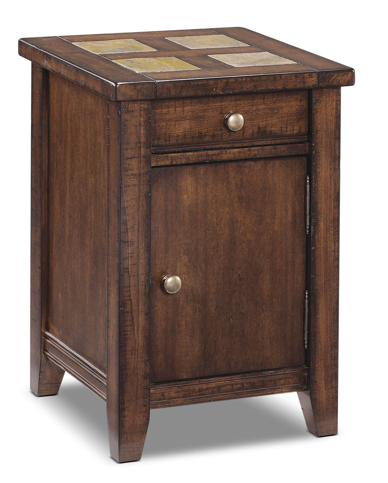 Allister Accent Table - Cinnamon