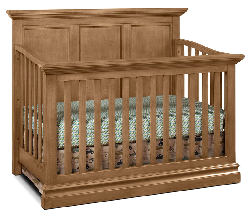 Cameron Convertible Panel Crib - Cashew