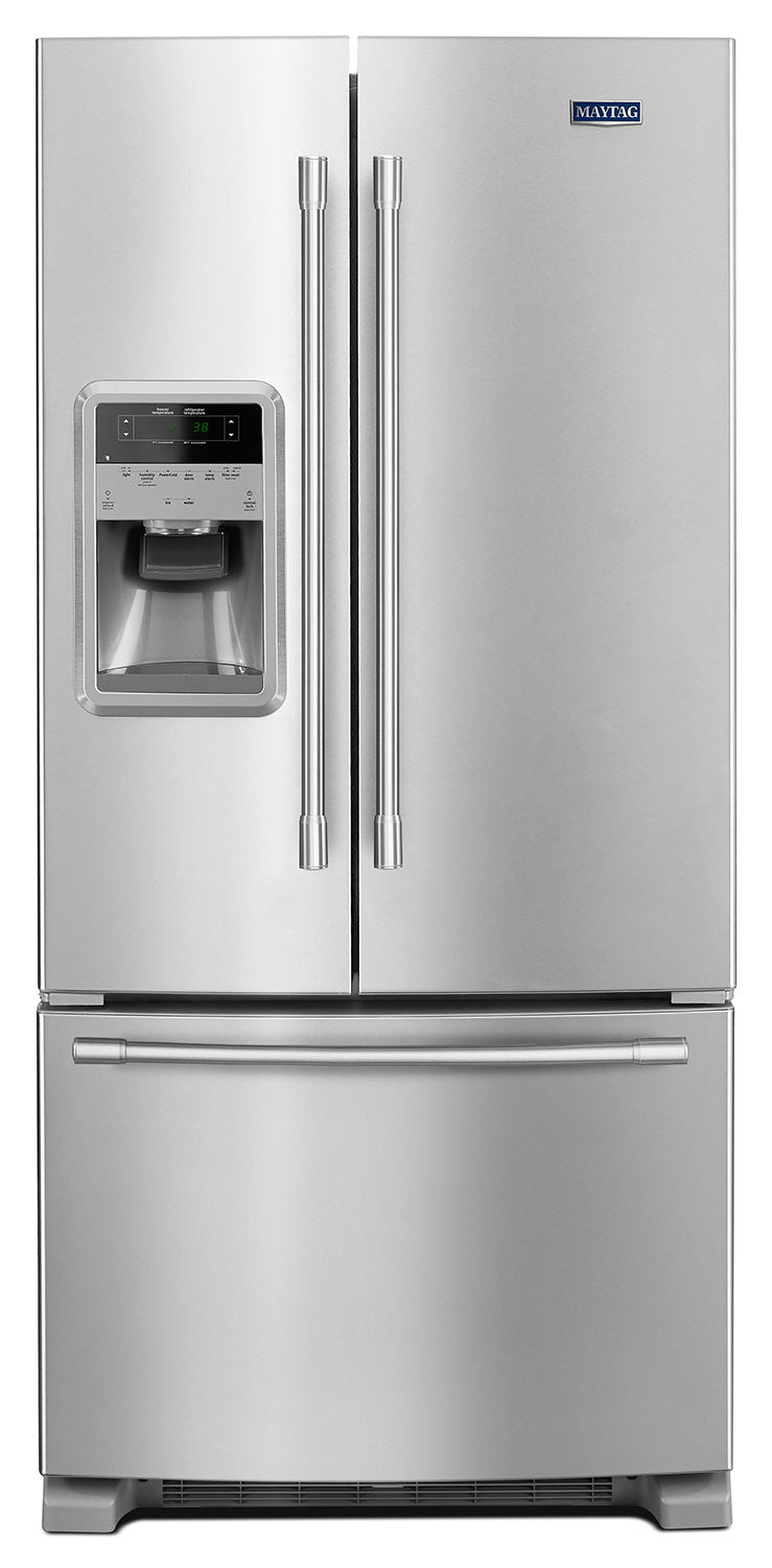 Maytag Fingerprint-Resistant Stainless Steel French Door Refrigerator (22 Cu. Ft.) - MFI2269FRZ