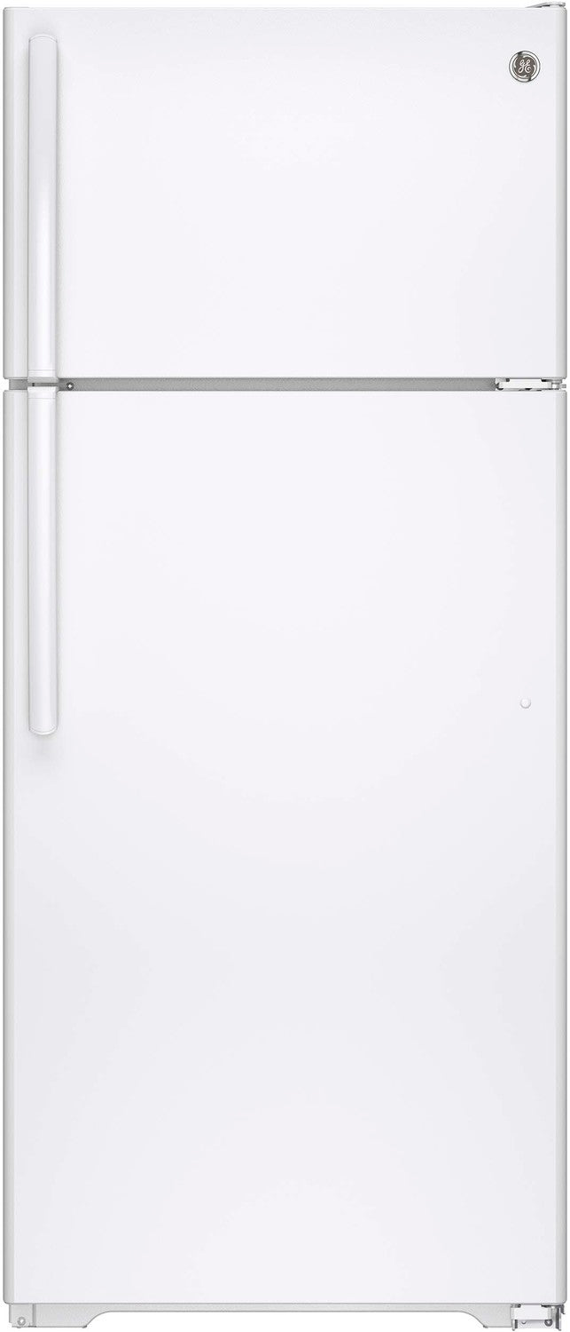 GE White TOP-FREEZER REFRIGERATOR (17.5 CU. FT.) - GTE18GTHWW