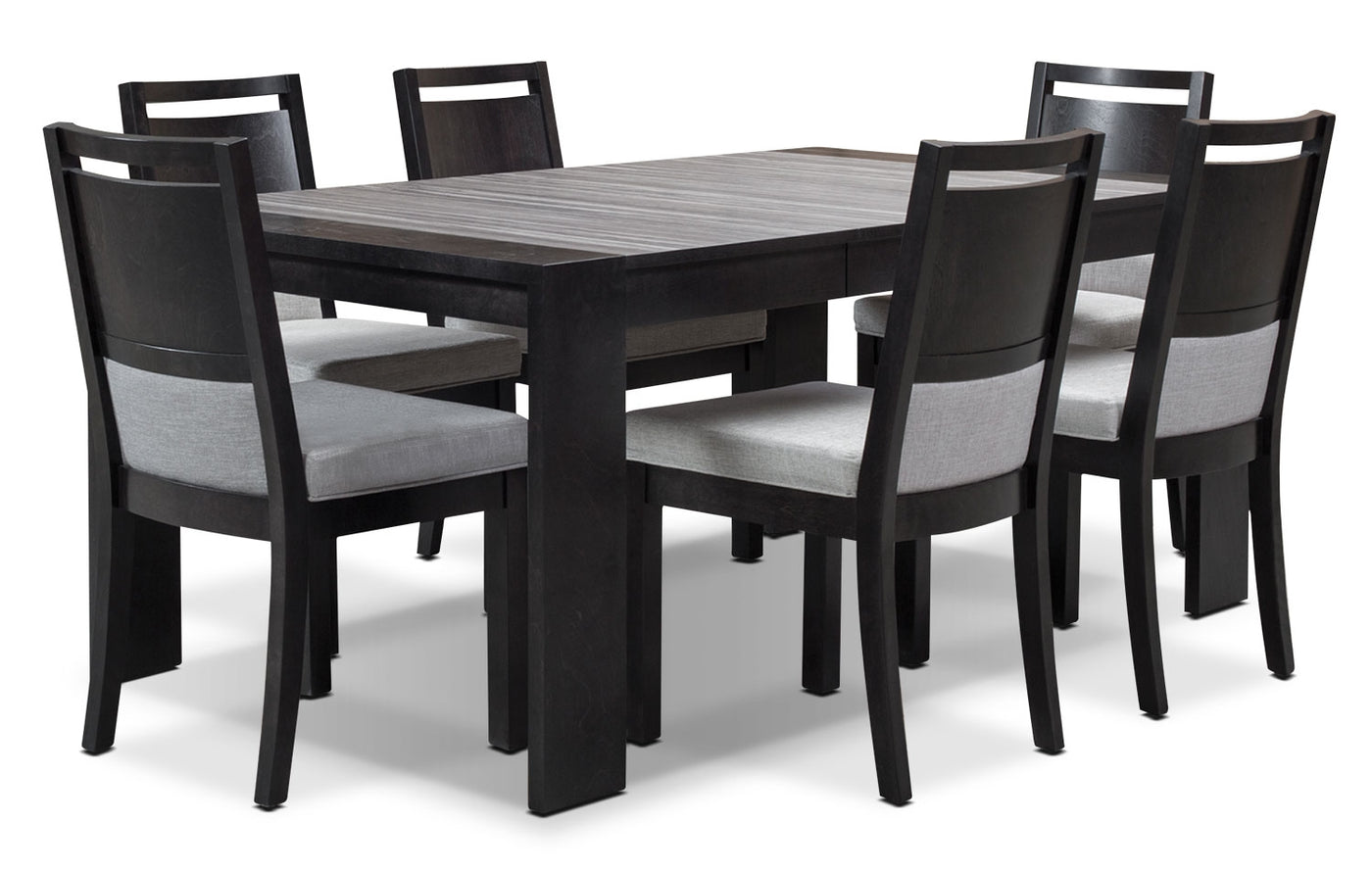 Brilliant Khala 7 Piece Dining Room Set Espresso Home Interior And Landscaping Mentranervesignezvosmurscom