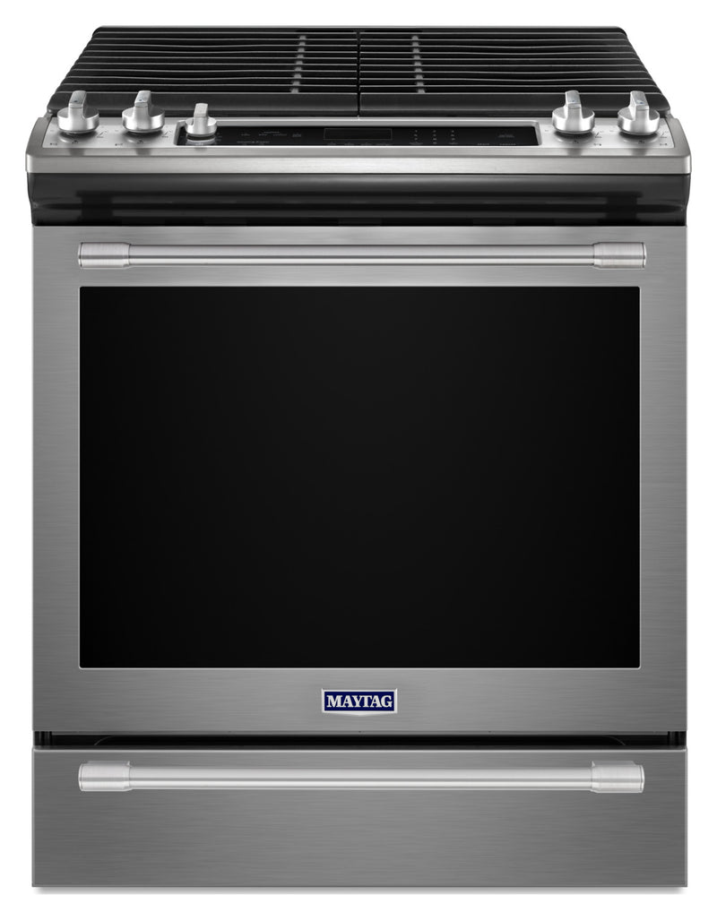 Maytag Stainless Steel Slide-In Gas Convection Range (5.8 Cu. Ft.) - MGS8800FZ