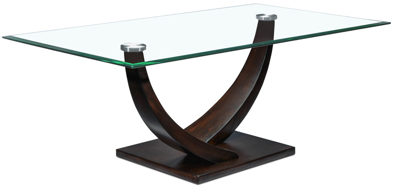 Caprice Coffee Table - Espresso
