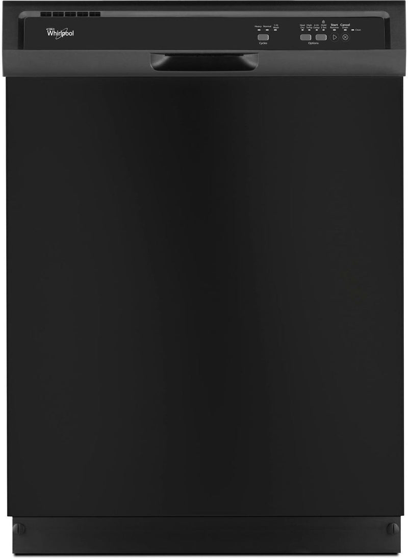 "Whirlpool Black 24"" Dishwasher - WDF330PAHB"