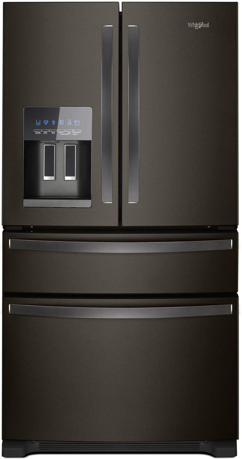 Whirlpool Black Stainless Steel French Door Refrigerator (25 Cu. Ft.) - WRX735SDHV
