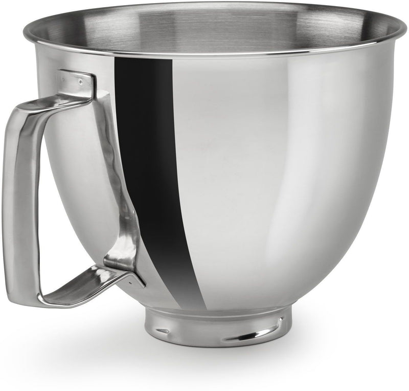 KitchenAid Polished Stainless Steel 3.5-Quart Bowl with Handle - KSM35SSFP