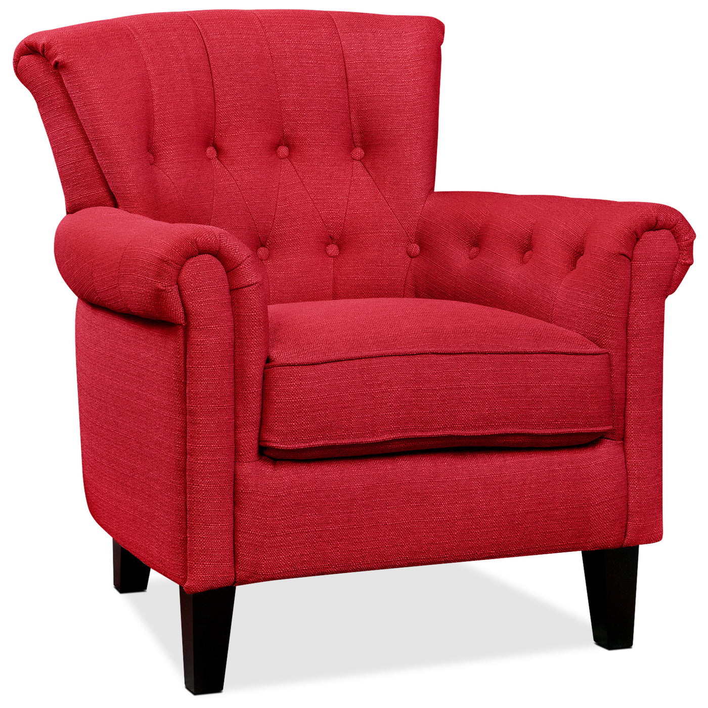 Molly Accent Chair Red Leon S