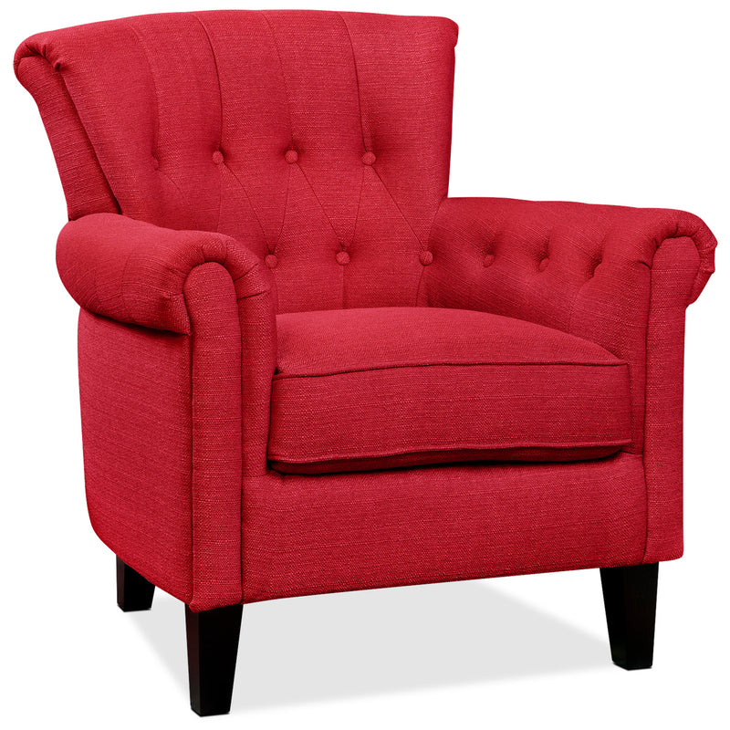 Molly Accent Chair - Red