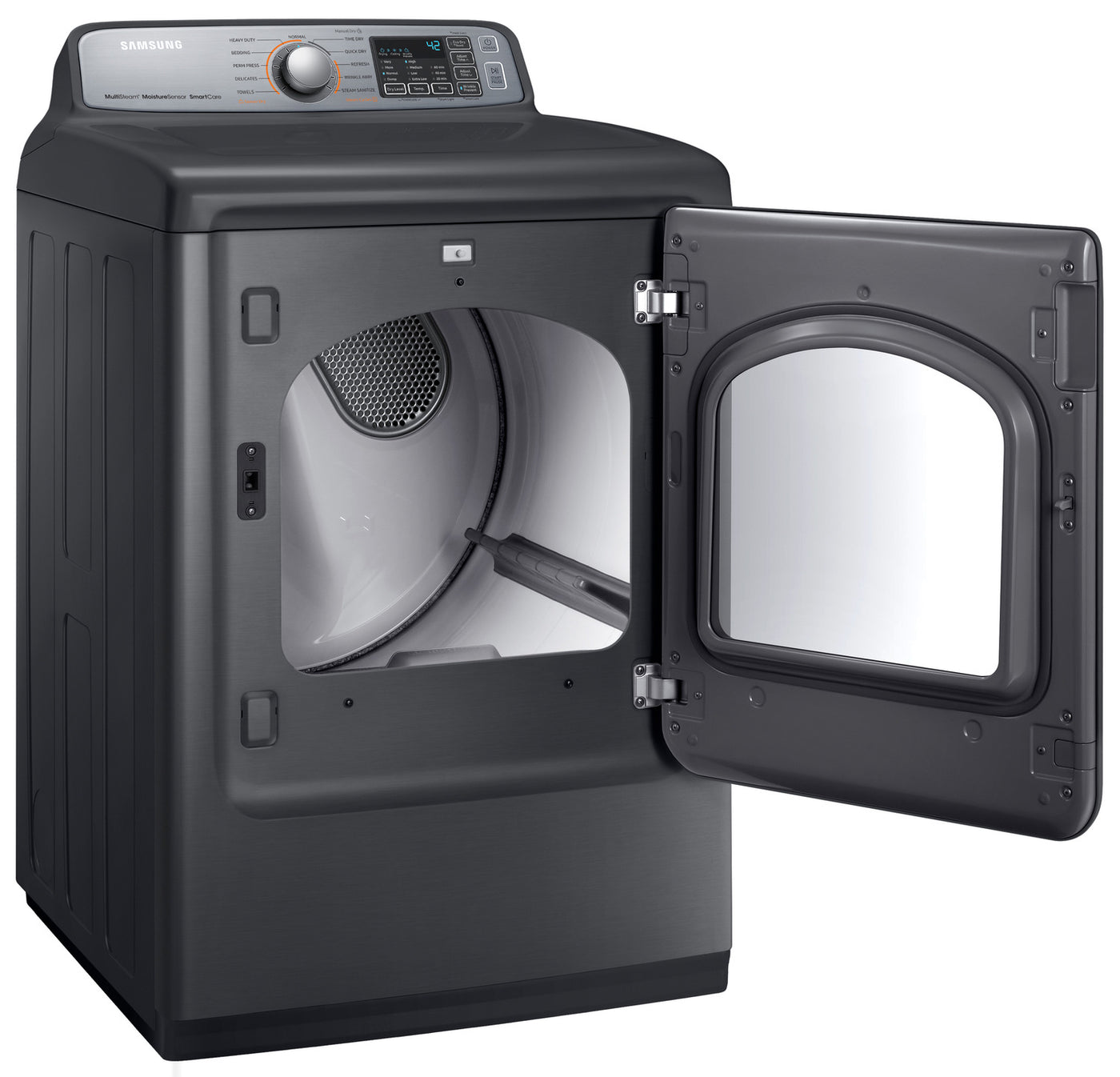 Samsung Platinum Electric Dryer 7 4 Cu Ft Dve50m7450p