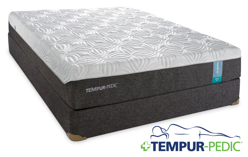 Tempur-Pedic Appeal 2.0 Cushion Firm Twin Mattress and Boxspring Set