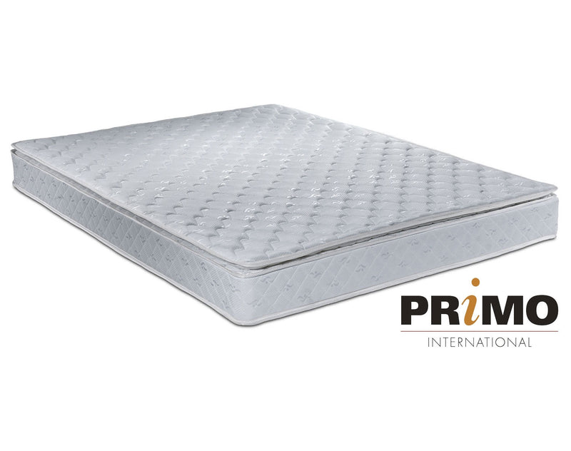 Primo International Radius Cushion Plush Collection - 2 Twin Mattresses