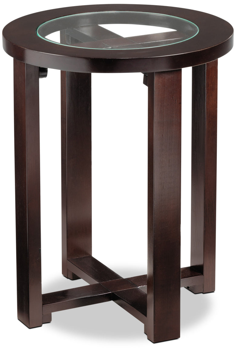 Emma End Table - Espresso