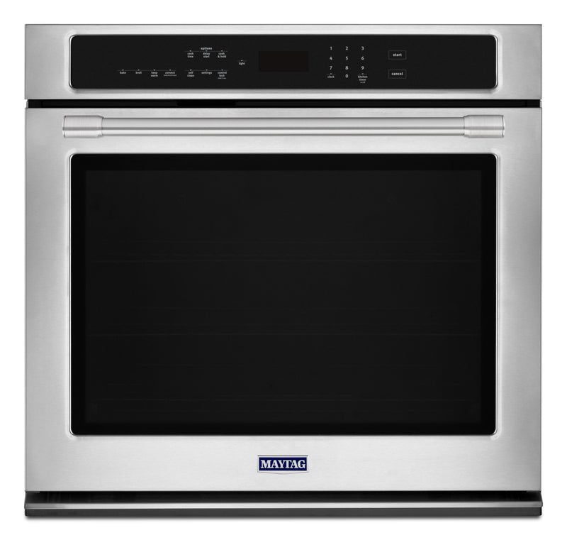 Maytag Stainless Steel Electric Convection Wall Oven (5.0 Cu. Ft.) - MEW9530FZ