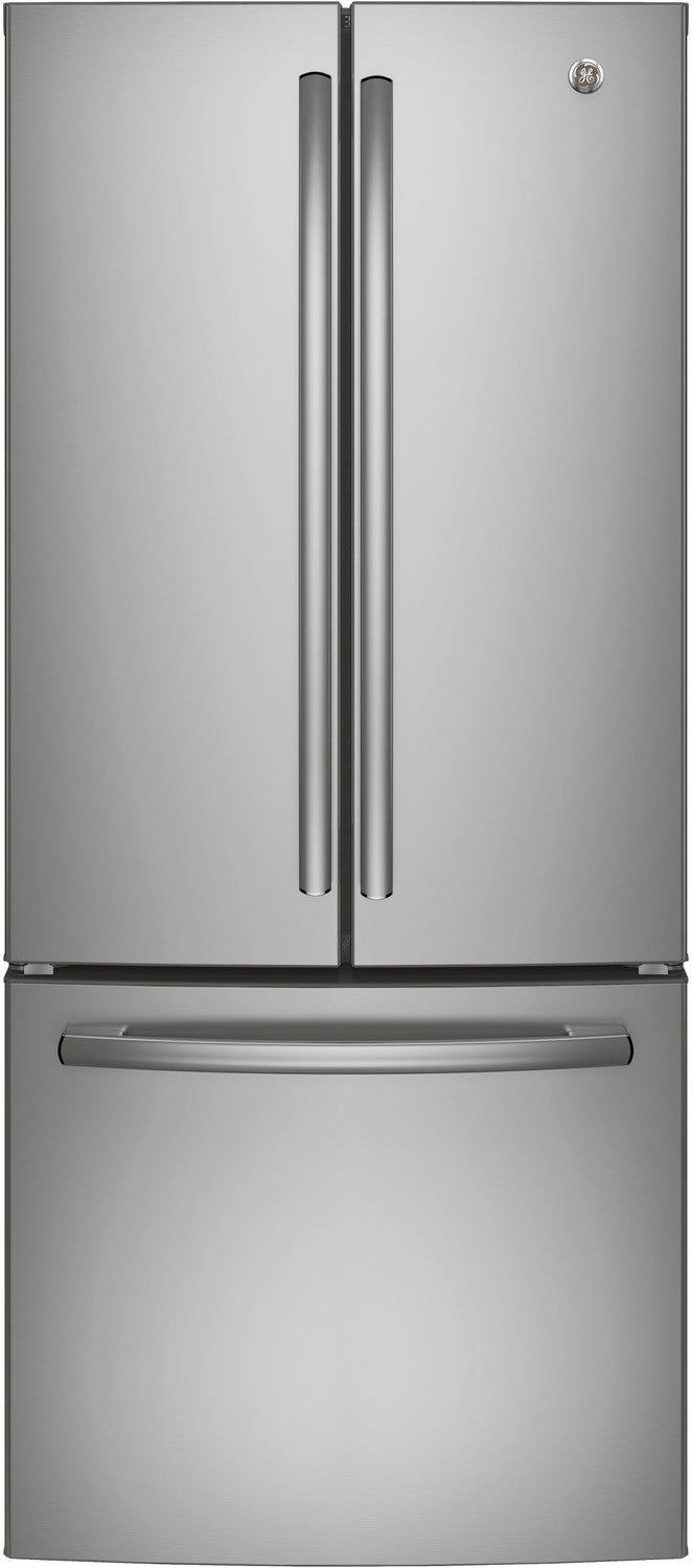 GE Stainless Steel French Door Refrigerator (20.8 Cu. Ft.) - GNE21DSKSS