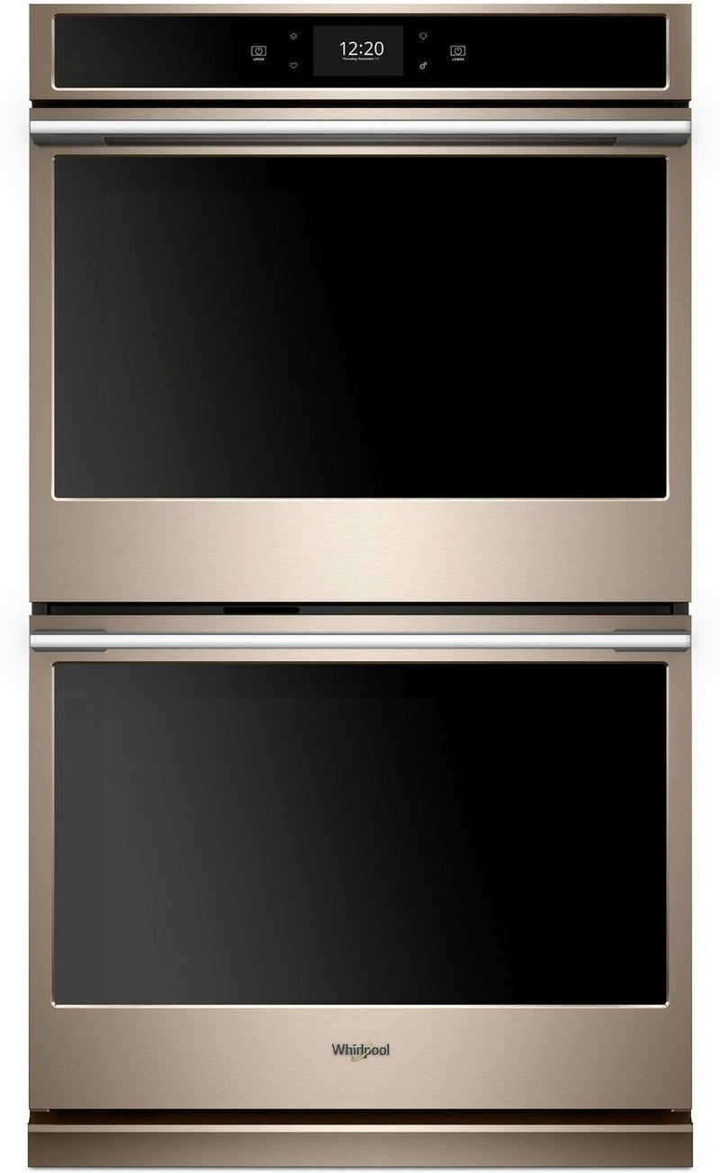 Whirlpool Sunset Bronze Electric True Convection Double Wall Oven (10.0 Cu. Ft.) - WODA7EC0HN