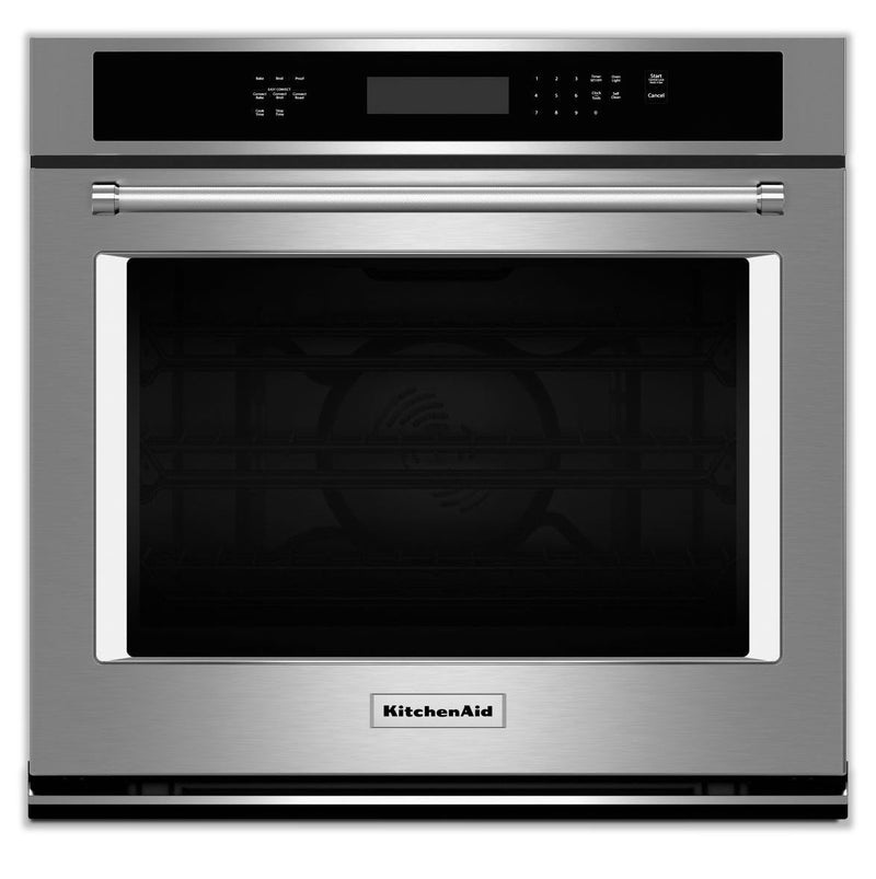 KitchenAid Stainless Steel Convection Wall Oven (5 Cu. Ft.) - KOSE500ESS