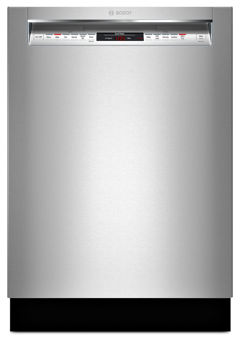 "Bosch Stainless Steel 24"" Dishwasher - SHEM78W56N"