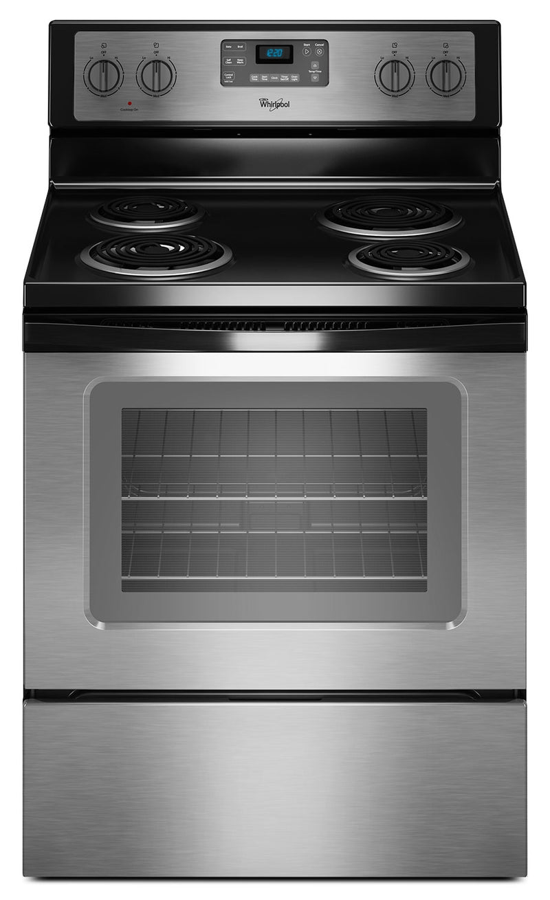 Whirlpool Stainless Steel Electric Range (4.8 Cu. Ft.) - YWFC310S0ES